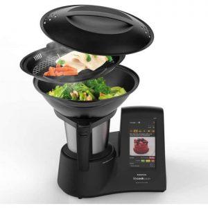 Robot de cuisine multifonction Taurus Mycook Touch Black